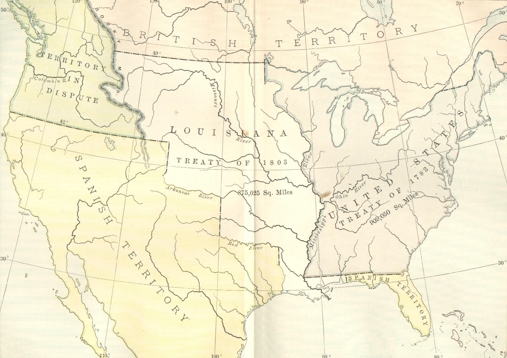 Maps Showing U.S. Expansion